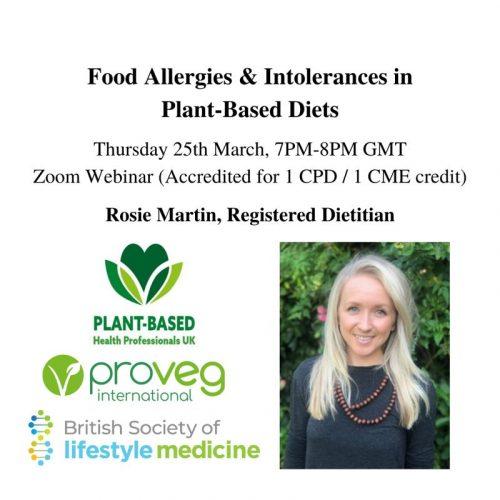 Food Allergies & Intolerances in Plant-Based Diets