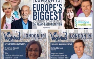 A review of the weeks plant-based nutrition news 20th October 2019