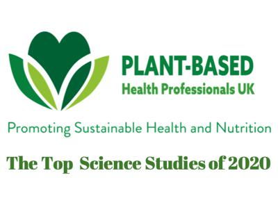 The Top Science Papers of 2020 supporting plant-based nutrition
