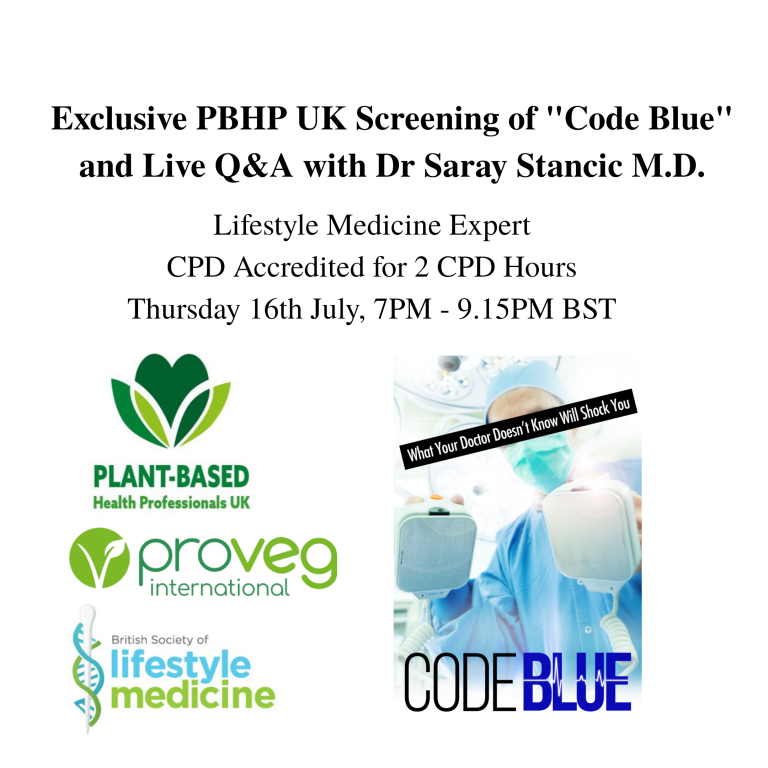 PBHP Excusive UK Screening of Code Blue