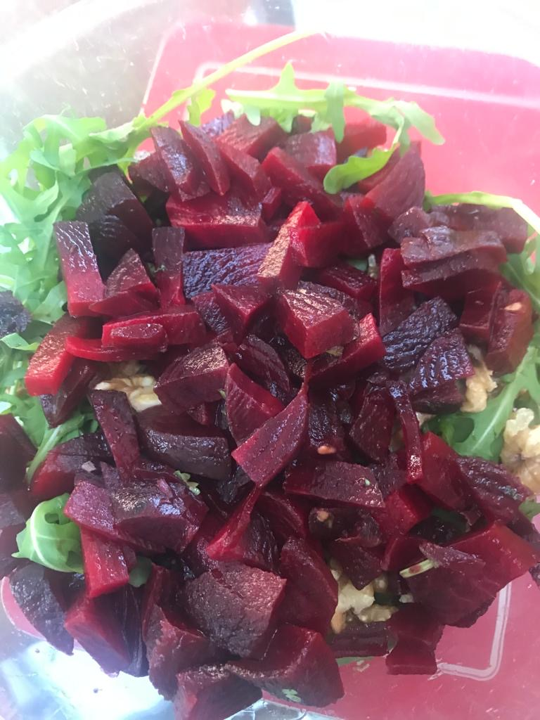 Beetroot Rocket (Arugula) salad recipe