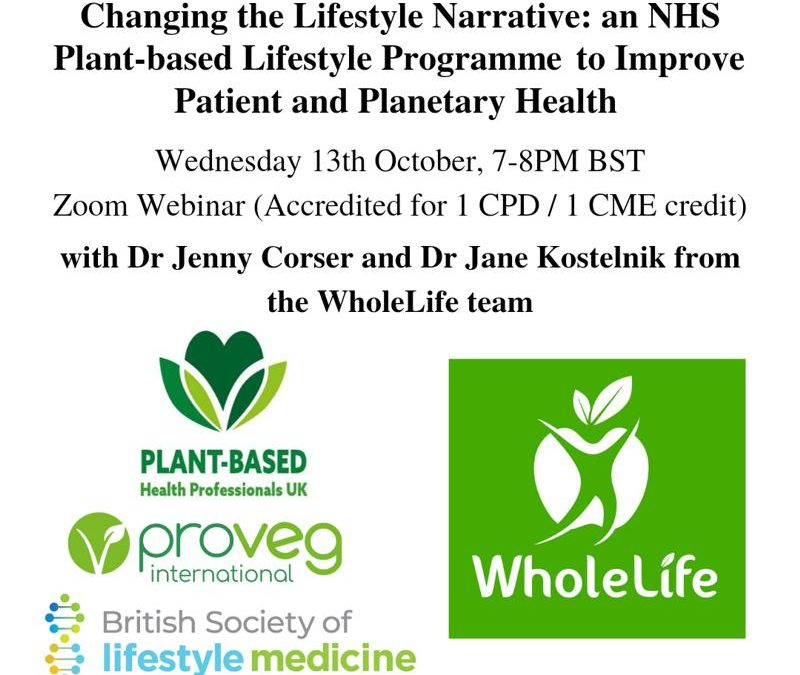 Changing the Lifestyle Narrative: an NHS Plant-Based Lifestyle Programme to Improve Patient and Planetary Health