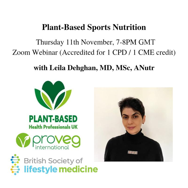 Plant based sports nutrition