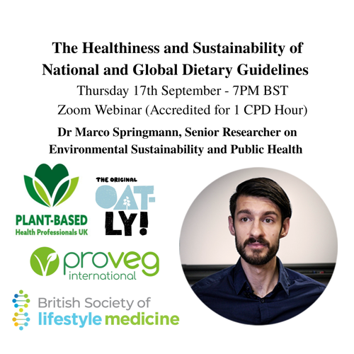 The Healthiness and Sustainability of National and Global Dietary Guidelines