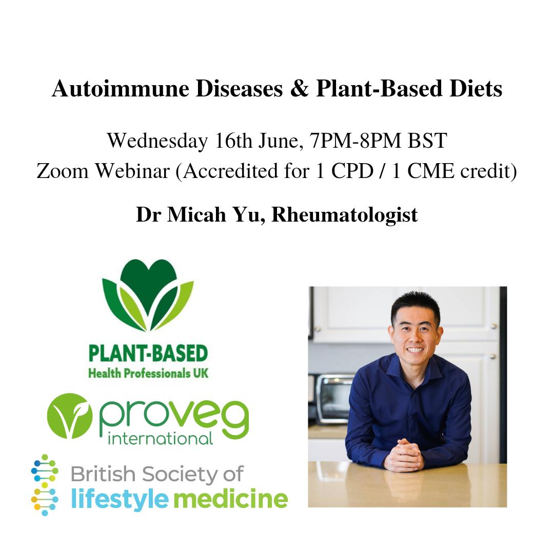 Dr Micah Yu - Plant-Based Diets and Autoimmune Diseases