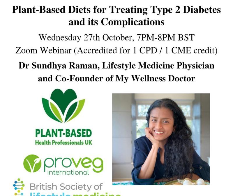 Plant-based diets for treating type 2 diabetes and its complications