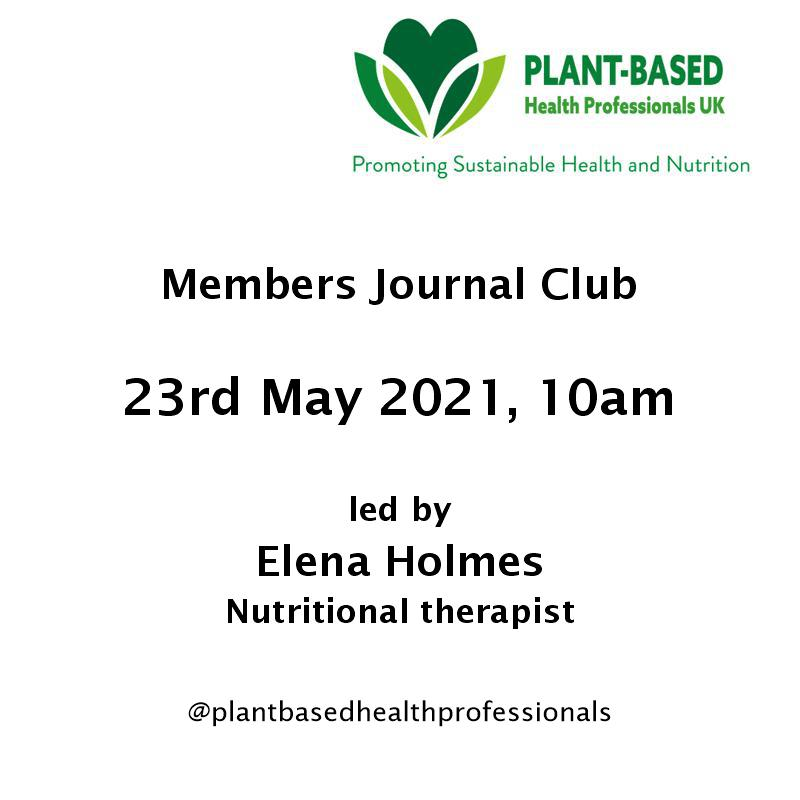 Members journal club may 21