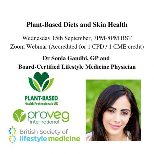 Plant-based diets and skin health