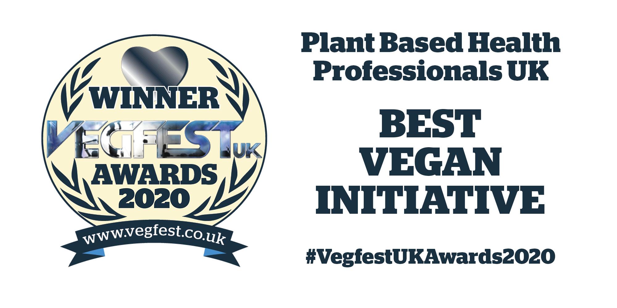 Best Vegan Initiative Award 2020