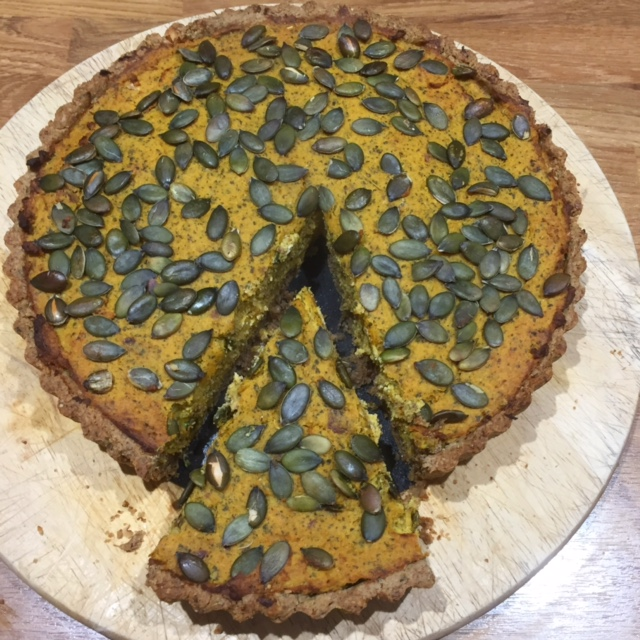 Roasted Squash Tart recipe