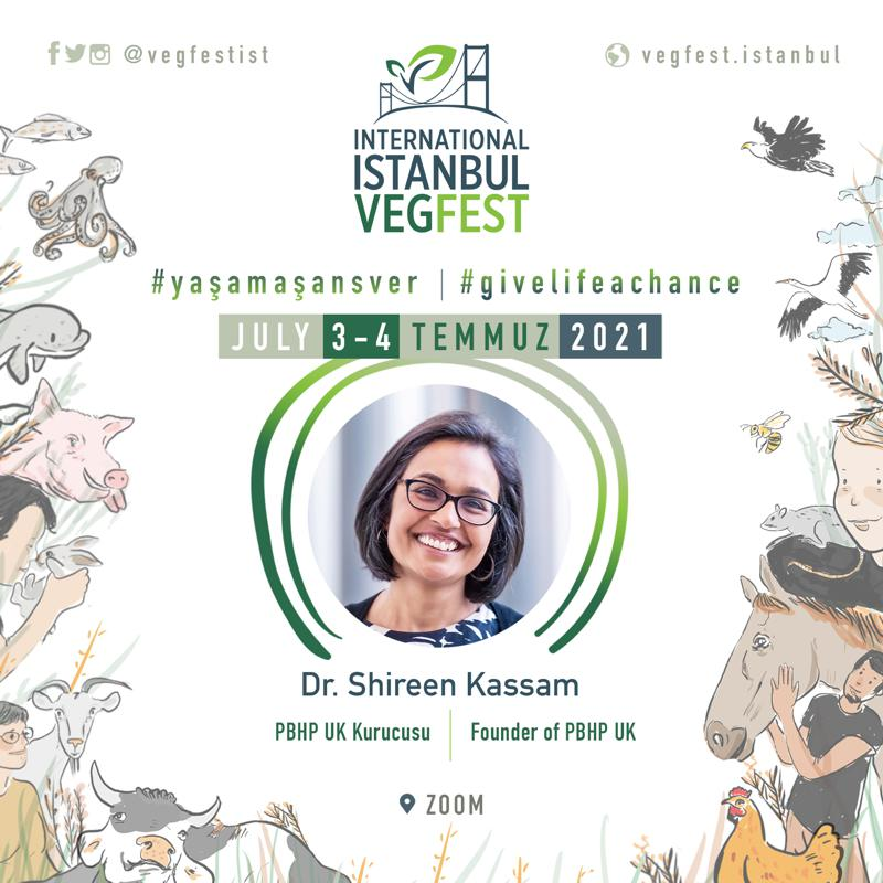 Istanbul Vegfest 2021 - Shireen Kassam