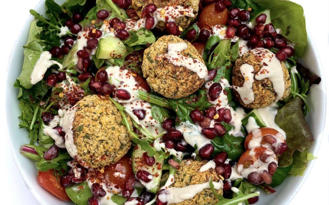 Spicy Falafel Salad