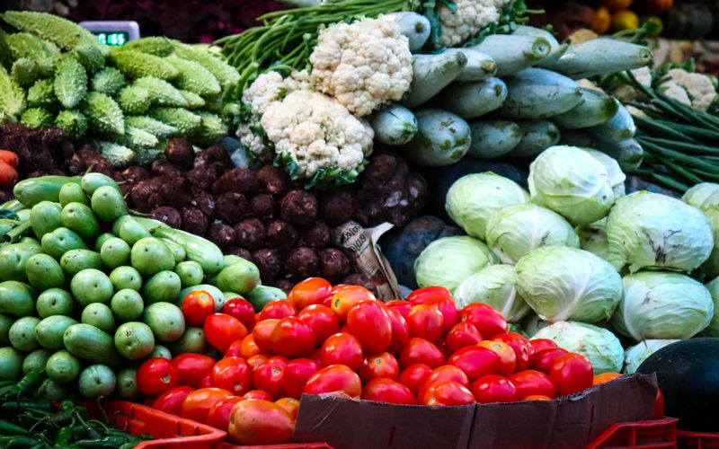 Blanched Vegetables