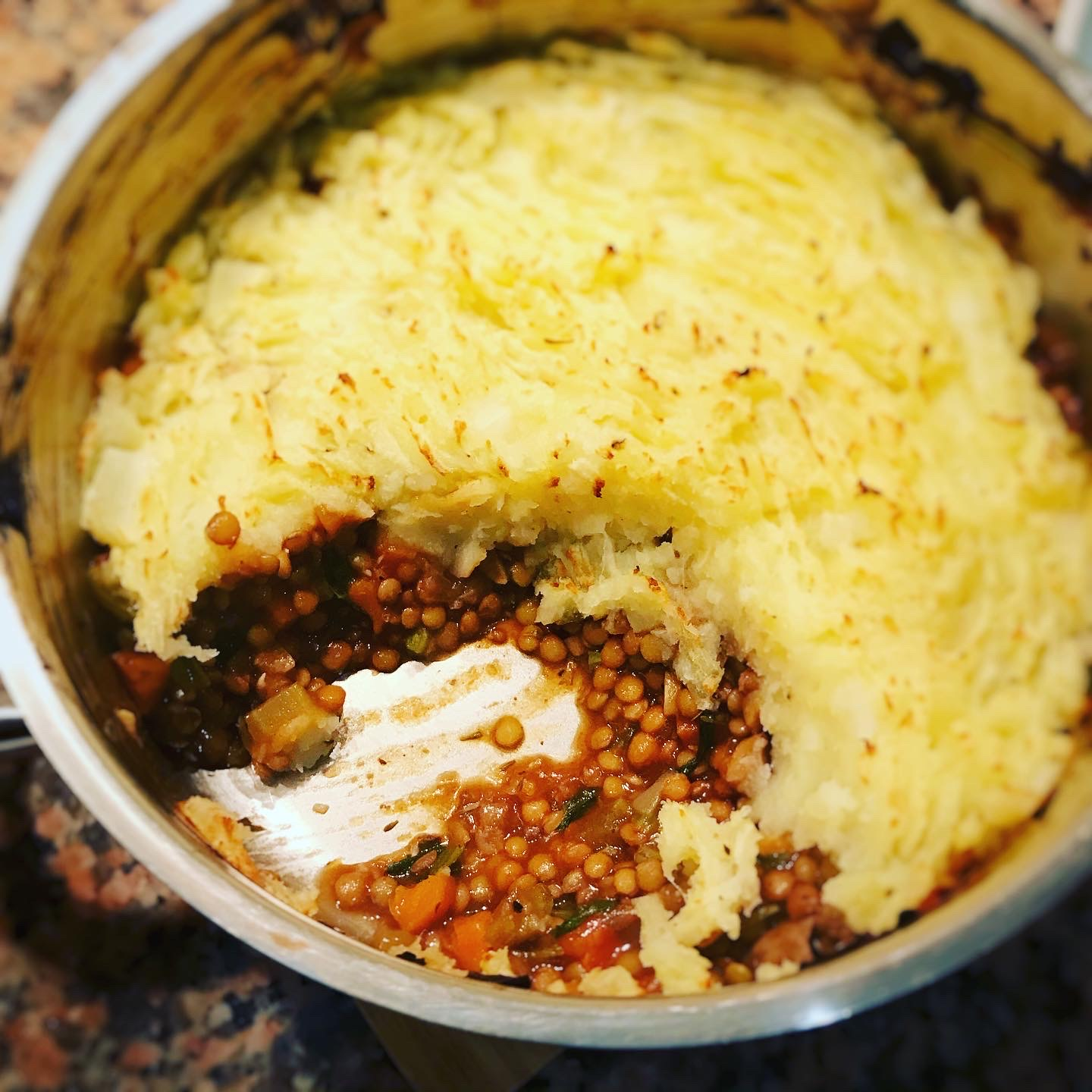 Lentil Shepherd's Pie recipe