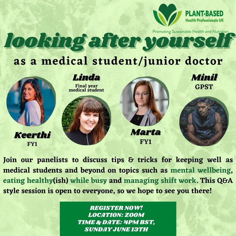 Looking after yourself as a medical student or junior doctor