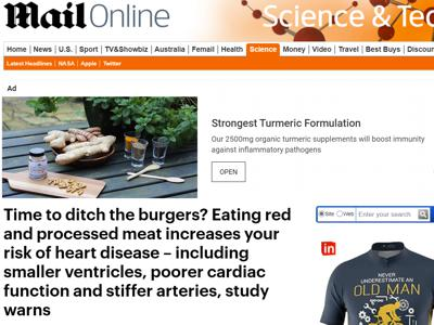 /New study links red meat consumption with heart disease
