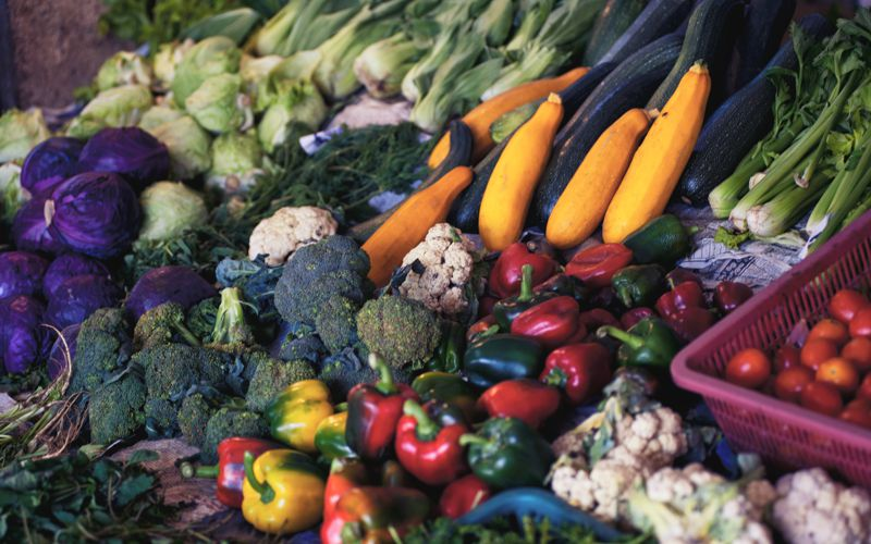 Smokey Mediterranean Vegetables
