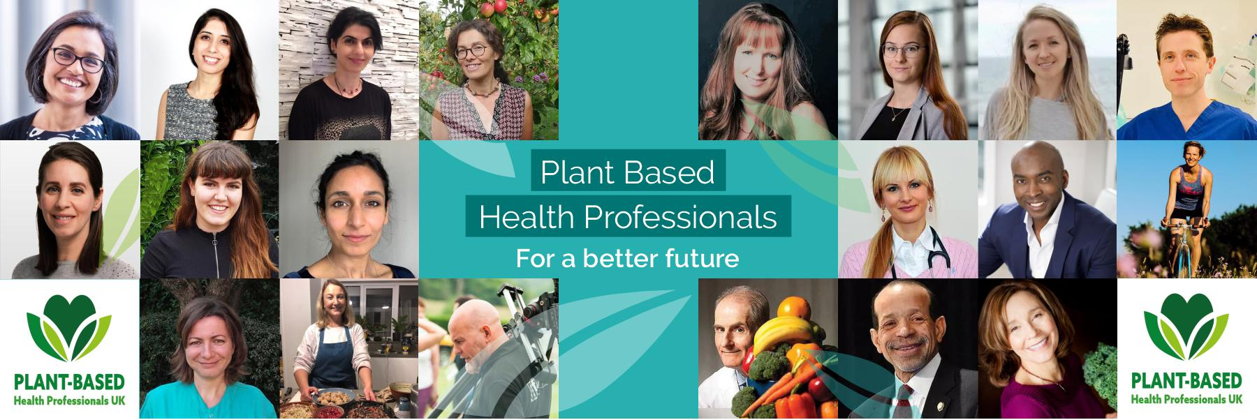 health benefits of plant-based diet supported by health professionals