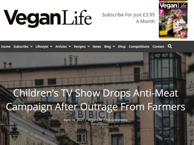 Children's TV Show Drops Anti-Meat Campaign After Outrage From Farmers